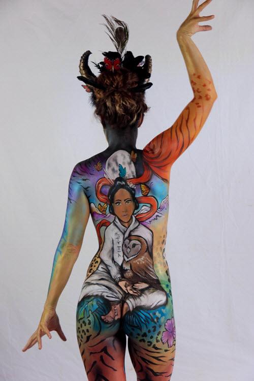 Winners Galore At The Australian Body Art Festival 2018 Australian Body Art Festival